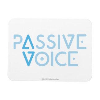 Passive Voice Rectangular Photo Magnet