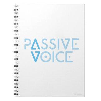 Passive Voice Spiral Note Book