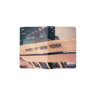 Passport Cover with New York Ship photo