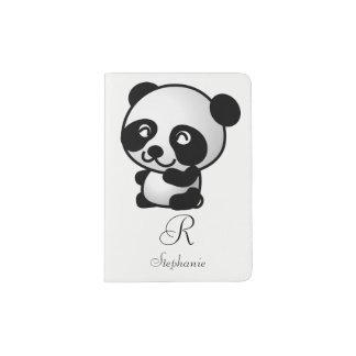 Passport Holder. Monogram Panda. Passport Holder