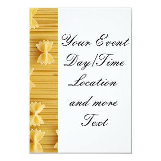 pasta card
