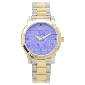 Pastel Blue Horse Racing Thoroughbred Racehorse Watch