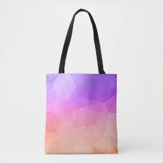 Pastel Colors Modern Octagonal Geometric Pattern Tote Bag