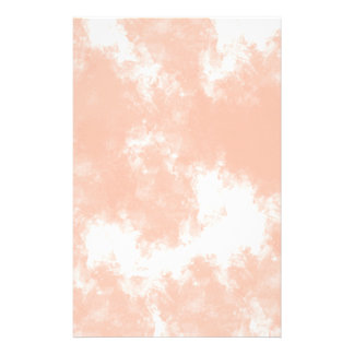 Pastel coral pink watercolor wedding stationery