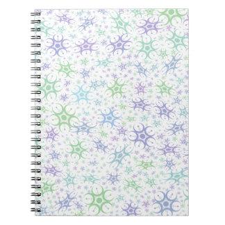 Pastel Crop Circle Notebook