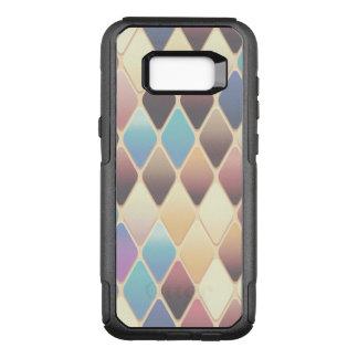 Pastel Diamond Mosaic OtterBox Commuter Samsung Galaxy S8+ Case