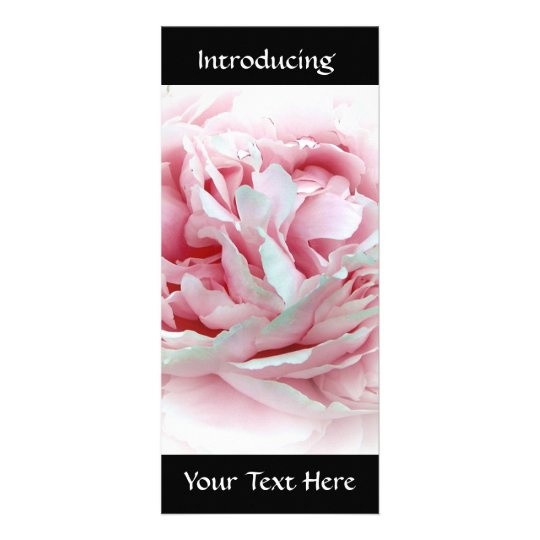 Pastel Flower Personalized Rack Card