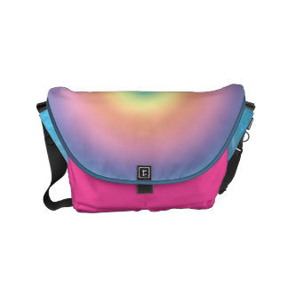 Pastel Gradient Messenger Bag