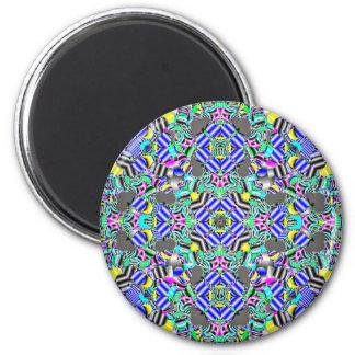 Pastel Kaleidescope Magnet
