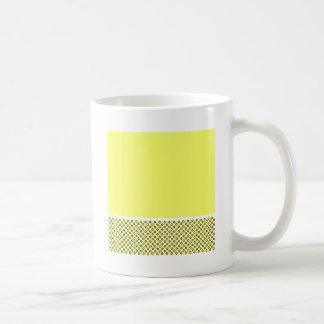 Pastel Lemon Lovers Basic White Mug