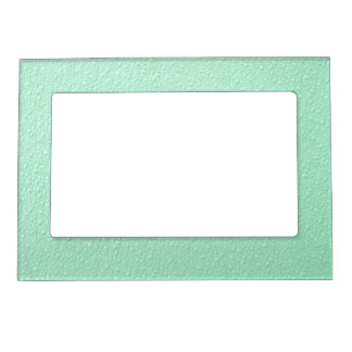 pastel mint green trendy colors magnetic picture frame - Mint Picture Frames