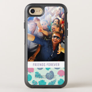 Pastel Nautical Pattern | Your Photo & Text OtterBox Symmetry iPhone 8/7 Case