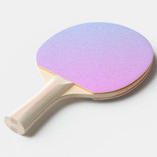 Pastel Ombre Glitter Ping Pong Paddle