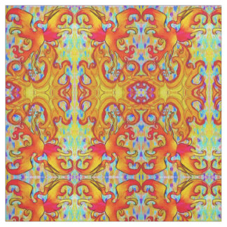 Pastel Phoenix Fabric