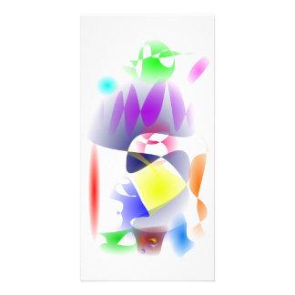 Pastel Custom Photo Card