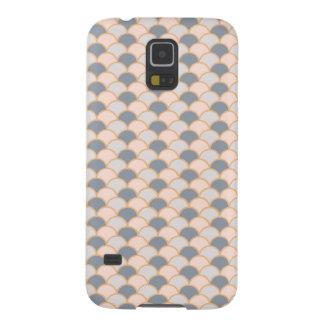 Pastel Pink  Fan/Shell Samsung Galaxy S5 Case