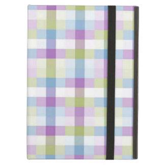 Pastel Plaid Powis iCase iPad Air Case