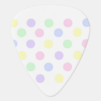 Pastel Polka Dot Guitar Pick