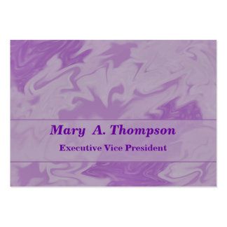 Pastel purple Abstract Art Business Card Templates