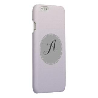 Pastel Purple Alphabet. A.