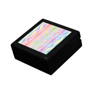 PASTEL RAINBOW STRIPES GIFT BOX