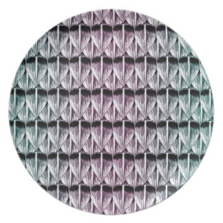 Pastel Scales Plate