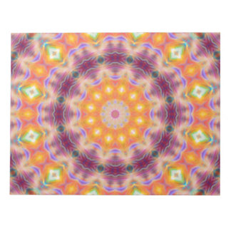 Pastel Star Mandala Notepad