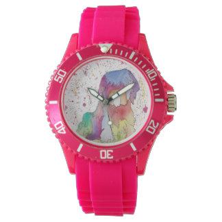 Pastel The Rainbow Pup Watch