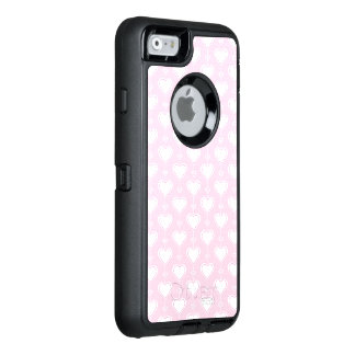 Pastel Valentine Hearts OtterBox iPhone 6/6s Case
