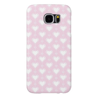 Pastel Valentine Hearts Samsung Galaxy S6 Cases