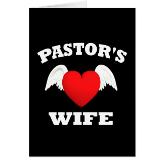 Pastor's Wife Card