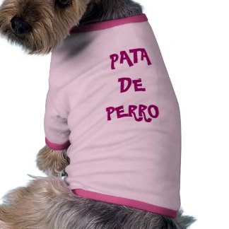 PATA DE PERRO RINGER DOG SHIRT