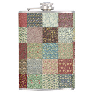 Patchwork Coordinates Hip Flask