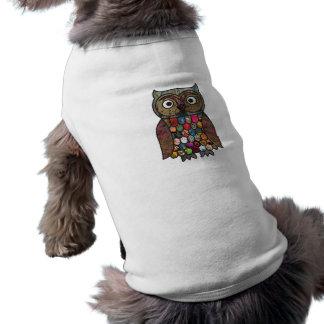 Patchwork Owl Shirt