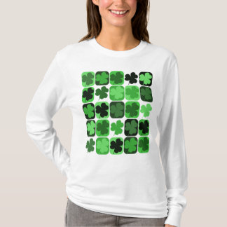 Patchwork Shamrocks T-Shirt