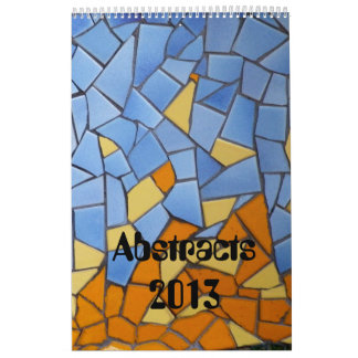 Patchworks and abstracts 2013 wall calendar