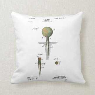 Patent Golf Ball on Tee Cushion