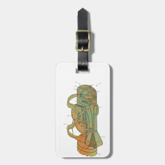 Patent Image of Golf Bag Bag Tag