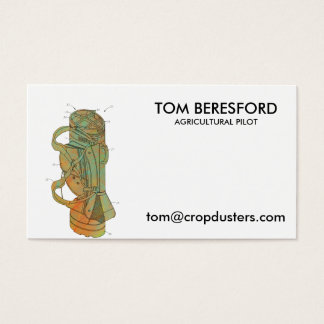 Patent Image of Golf Bag Business Card