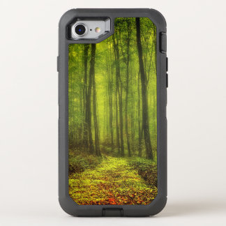 Path In The Woods OtterBox Defender iPhone 7 Case