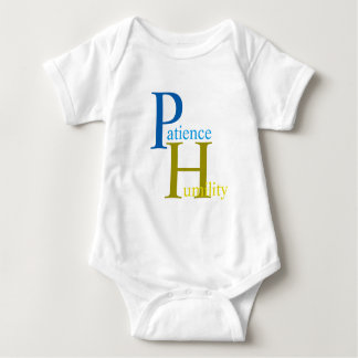 patience baby baby bodysuit