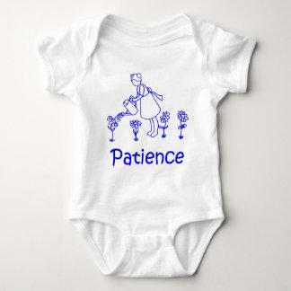 patience baby bodysuit