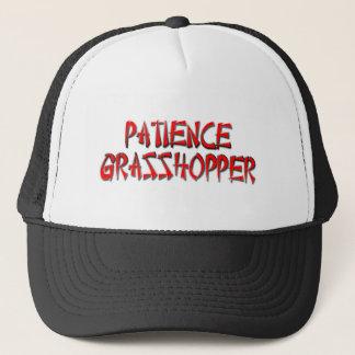 PATIENCE GRASSHOPPER TRUCKER HAT