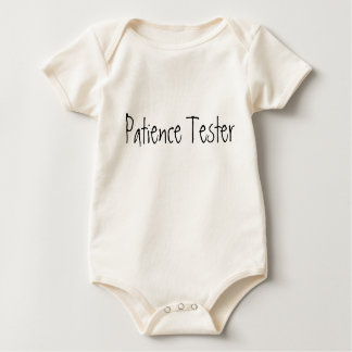 Patience Tester Baby Bodysuit