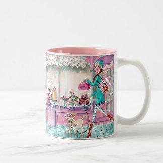 Patisserie Fashion Birthday Girl Cute Mug