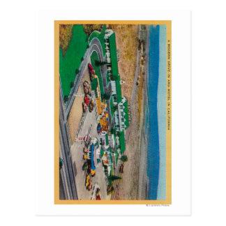 Patmars Motel and Modern Drive-InState Postcard