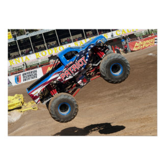 Patriot Monster Truck Print