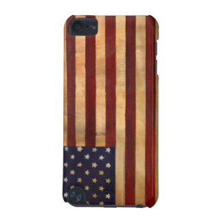 Patriotic Aged American Flag iPod Touch 5G Case