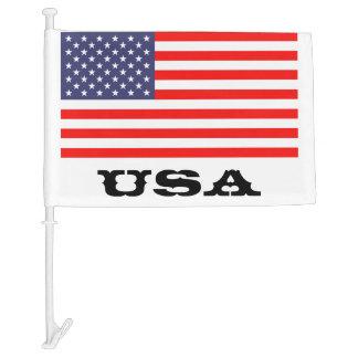 Patriotic American car flag | USA pride design