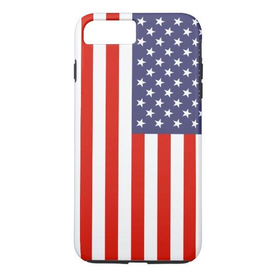 Patriotic American flag personalizable iPhone 7 Plus Case